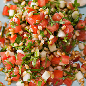 Farro Tabbouleh from H3 Healthy Kitchen