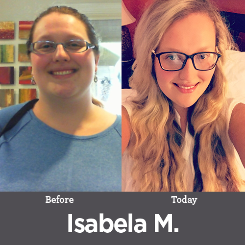 Isabela M Weight Loss Before and After