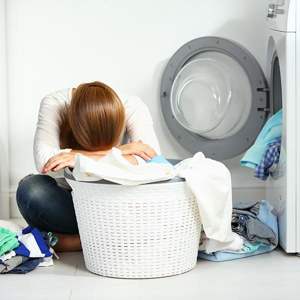 Stress Laundry Pile