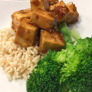 Peanut Sesame Ginger Tofu