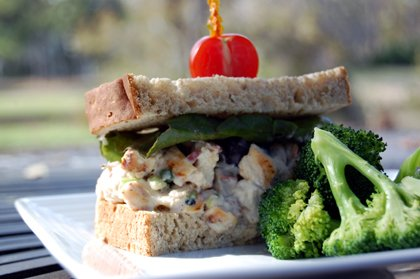 H3 Healthy Kitchen Chicken Salad Sandwich