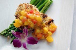 macadamia_crusted_fish_with_mango_chutney
