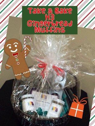 gingerbread gift basket