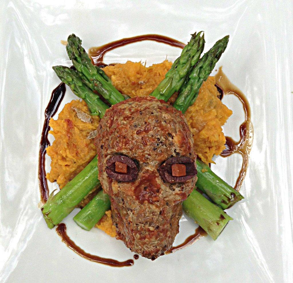 Healthy Kitchen Skull Meatloaf
