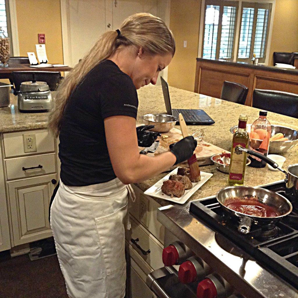 Chef Karla makes the Skull Meatloaf
