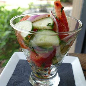 Dill and Tomato Salad