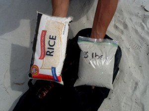 tools for sand bag