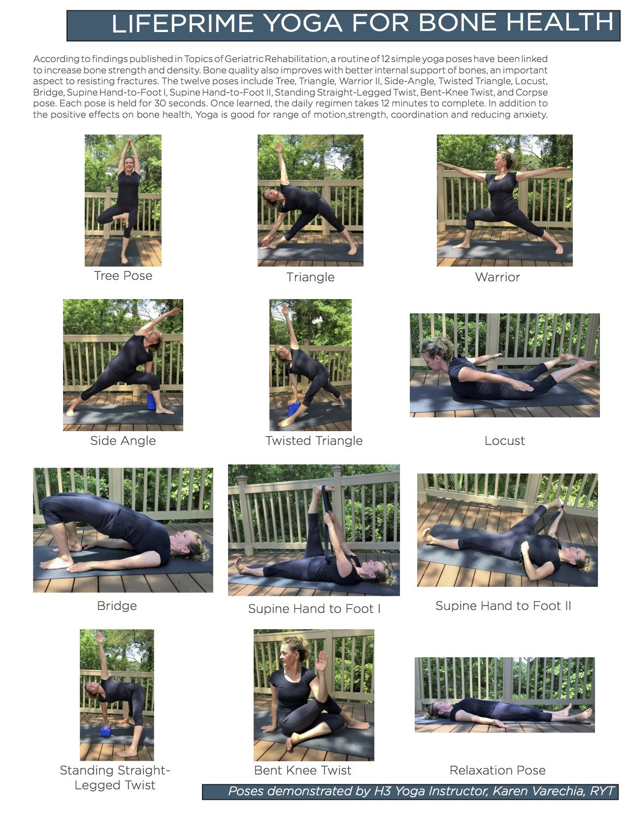 Yoga Poses for Bone Strength