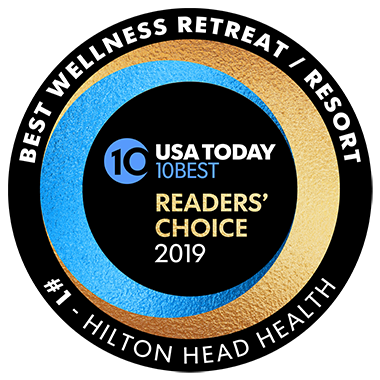USA Today #1 Wellness Resort in America Hilton Head Health