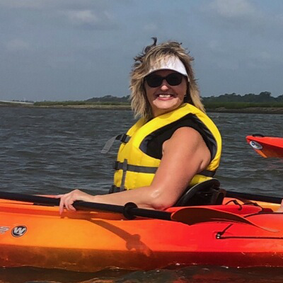 Debbie C Kayaking
